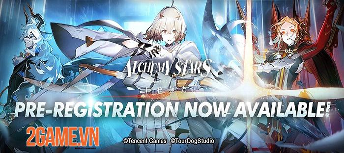 Alchemy Stars - Game nhập vai chiến thuật mới nhất từ ông lớn Tencent 1