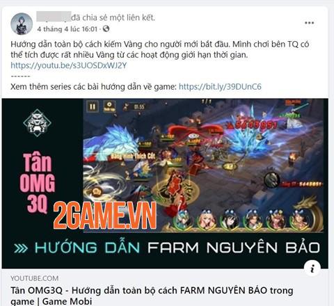 Cộng đồng game thủ Việt Nam đã thích mê Tân OMG3Q VNG từ lâu 2
