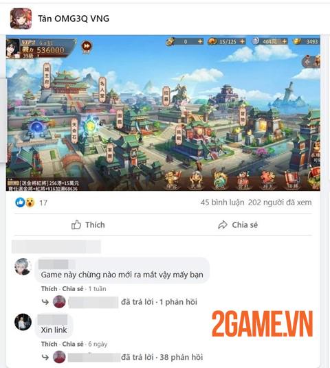 Cộng đồng game thủ Việt Nam đã thích mê Tân OMG3Q VNG từ lâu 4