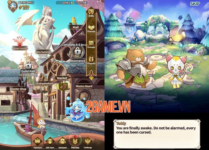 Luna Storia: RE - Game nhập vai chiến thuật theo lượt với kiểu tấn công độc đáo 1
