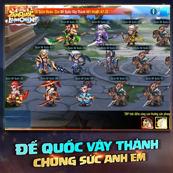 NPH Funtap sẽ cho ra mắt tựa game cực độc Tam Quốc Loạn Chiến trong tháng 4 3