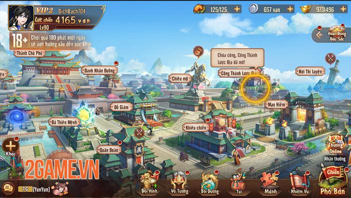 Game đấu tướng thế hệ mới Tân OMG3Q VNG bất ngờ công bố ngày ra mắt 2