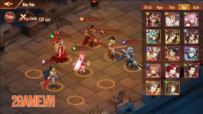 Game đấu tướng thế hệ mới Tân OMG3Q VNG bất ngờ công bố ngày ra mắt 3