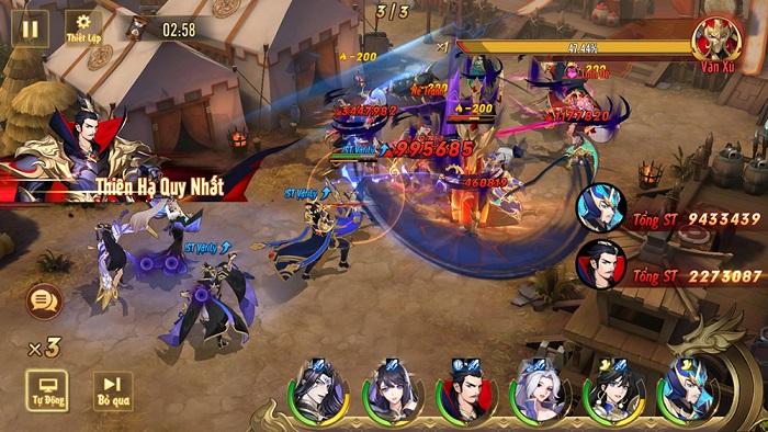 Game đấu tướng thế hệ mới Tân OMG3Q VNG bất ngờ công bố ngày ra mắt 4