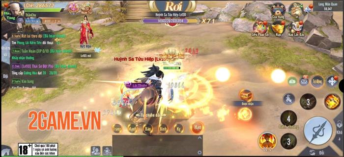 Tân Giang Hồ Truyền Kỳ - Đồ họa HD sắc nét, cách chơi cộng đồng hoàn toàn mới 0