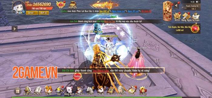 Thiên Mệnh Trường An - Game MMORPG PK đã tay khai mở Alpha Test 4
