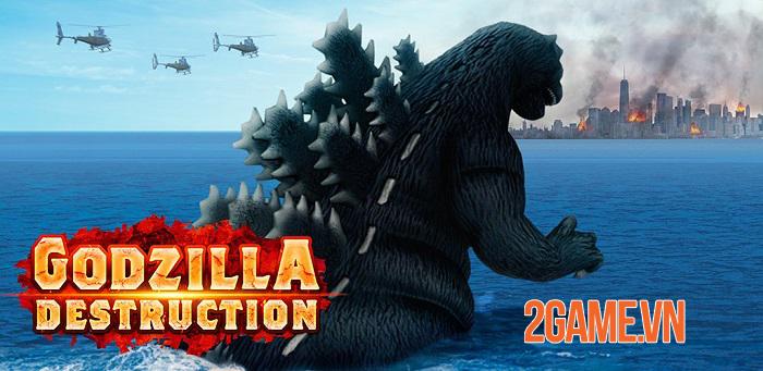 Godzilla Destruction - Trở thành Vua của các quái vật trong game mobile kaiju 0