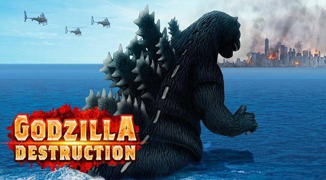Godzilla Destruction – Trở thành Vua của các quái vật trong game mobile kaiju