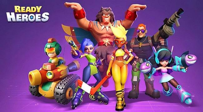 Ready Heroes – Game Idle RPG có hệ thống thu thập anh hùng hấp dẫn