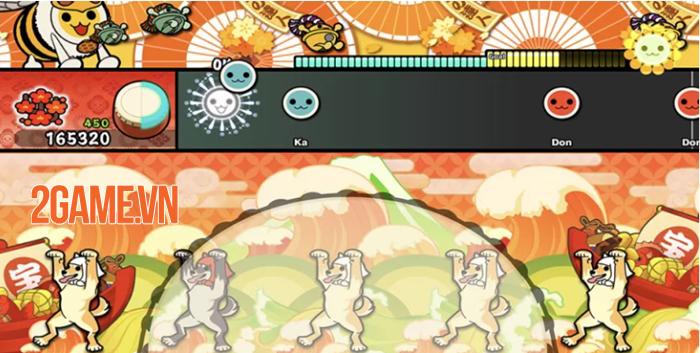 Taiko no Tatsujin Pop Tap Beat - Tựa game đánh trống vui nhộn, đầy màu sắc 3