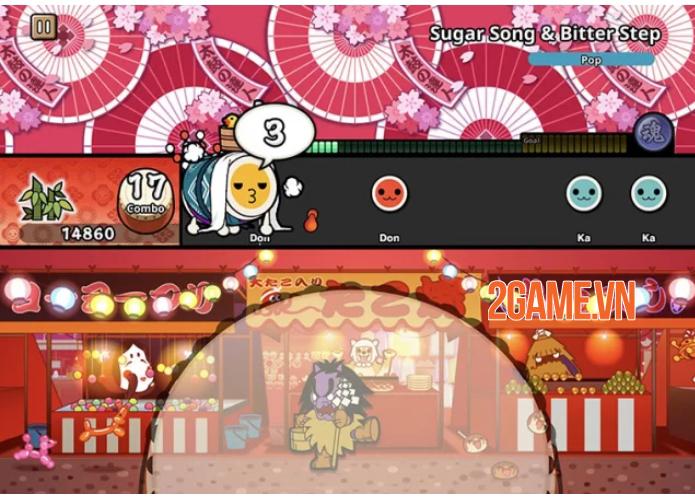 Taiko no Tatsujin Pop Tap Beat - Tựa game đánh trống vui nhộn, đầy màu sắc 2