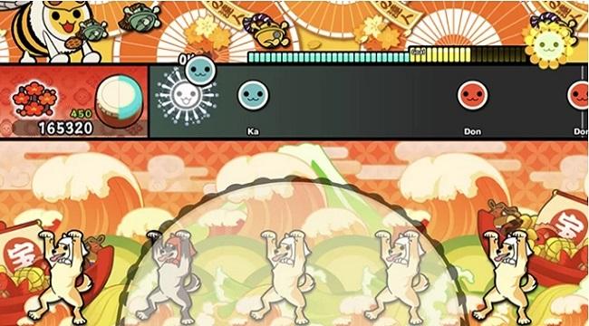Taiko no Tatsujin Pop Tap Beat – Tựa game đánh trống vui nhộn, đầy màu sắc