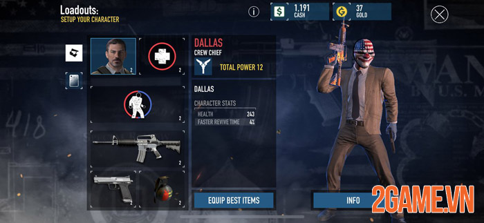 Payday: Crime War - Game mobile FPS đỉnh cao sẽ trở lại vào năm 2022 2