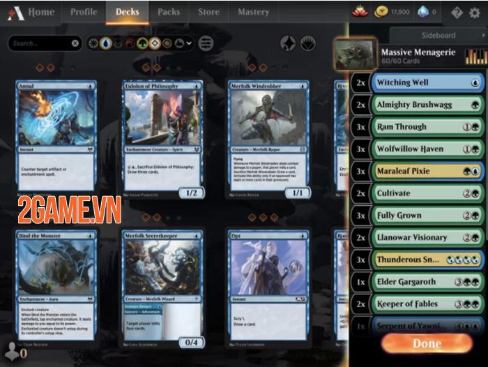 Trải nghiệm Magic the Gathering Arena - Các thẻ bài sống động đầy ma thuật 3