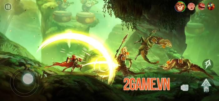 Trải nghiệm Unruly Heroes Mobile - Game hành động với các yếu tố kỳ ảo và cảm giác hài hước khó hiểu 5