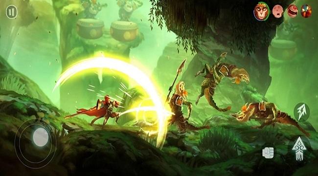 Trải nghiệm Unruly Heroes Mobile – Game hành động với các yếu tố kỳ ảo và cảm giác hài hước khó hiểu