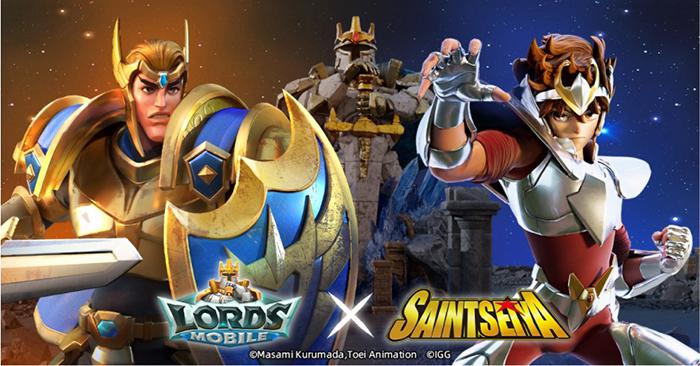 Sự kết hợp IP giữa Lords Mobile X Saint Seiya: Hợp tác đầu tiên của Lords Mobile và IP Anime nổi tiếng 0