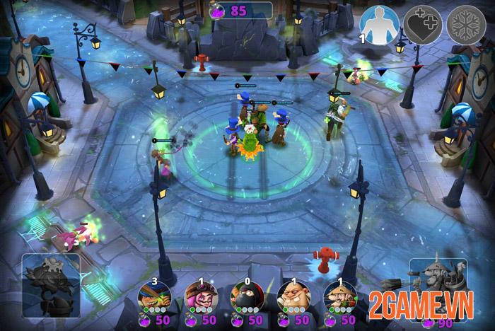 Courtyard Brawl - Game thủ trụ Mobile với hệ thống nhân vật hoành tráng 1