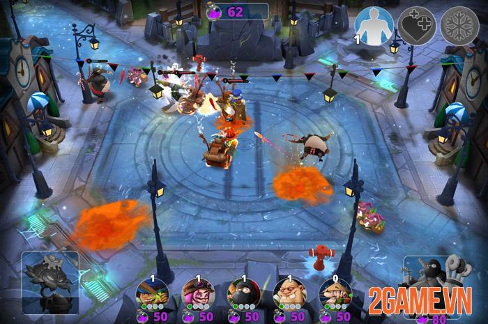 Courtyard Brawl - Game thủ trụ Mobile với hệ thống nhân vật hoành tráng 3