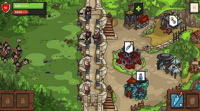 Towerwall – Game phòng thủ tháp với phong cách đồ họa độc đáo