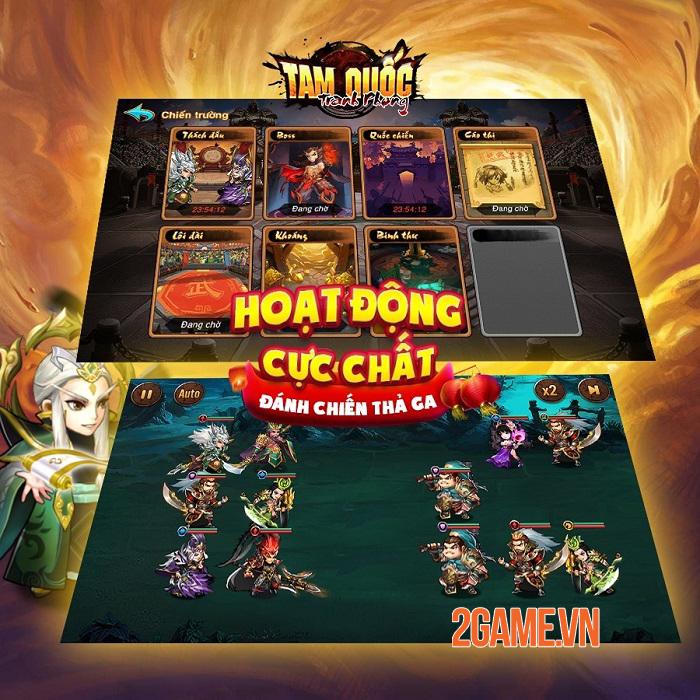 Tam Quốc Tranh Phong myG - Game thẻ tướng với tính năng PVP độc đáo sắp ra mắt 2