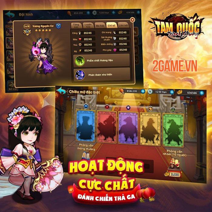Tam Quốc Tranh Phong myG - Game thẻ tướng với tính năng PVP độc đáo sắp ra mắt 3