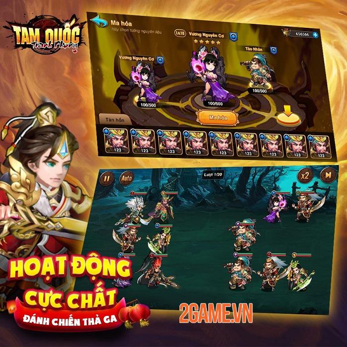 Tam Quốc Tranh Phong myG - Game thẻ tướng với tính năng PVP độc đáo sắp ra mắt 4