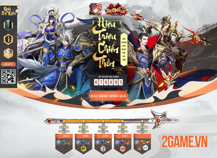 Cộng đồng Tân OMG3Q VNG hưởng ứng nhiệt tình khi game sắp ra mắt 5