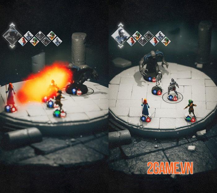 Fallen of the Round - Game roguelike phiêu lưu dungeon dưới dạng thu nhỏ sống động 1