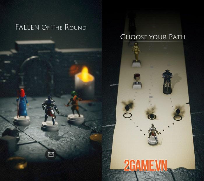 Fallen of the Round - Game roguelike phiêu lưu dungeon dưới dạng thu nhỏ sống động 2