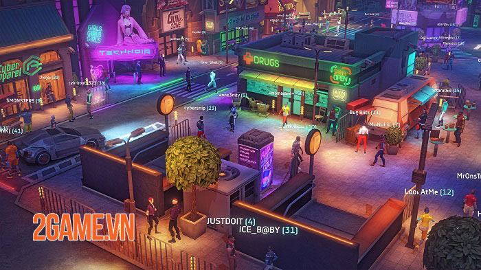 Cảm nhận Cyberika - Game MMORPG phiêu lưu hành động phong cách cyberpunk 4