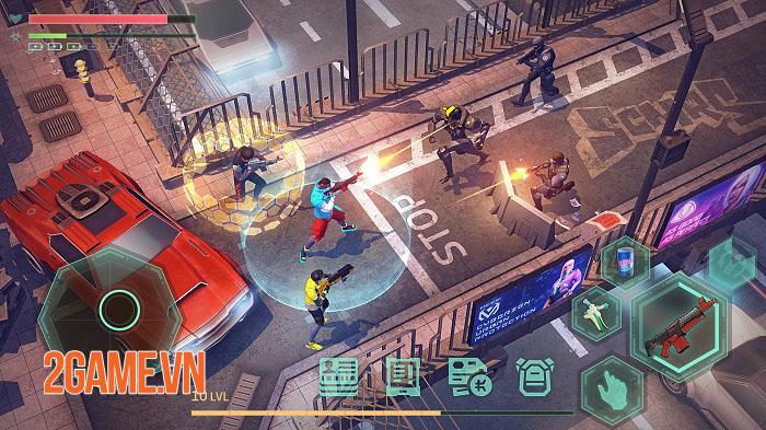 Cảm nhận Cyberika - Game MMORPG phiêu lưu hành động phong cách cyberpunk 5