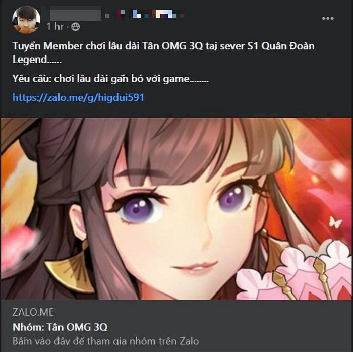 Tân OMG3Q VNG - Game Tam Quốc thế hệ mới được mong chờ nhất 3