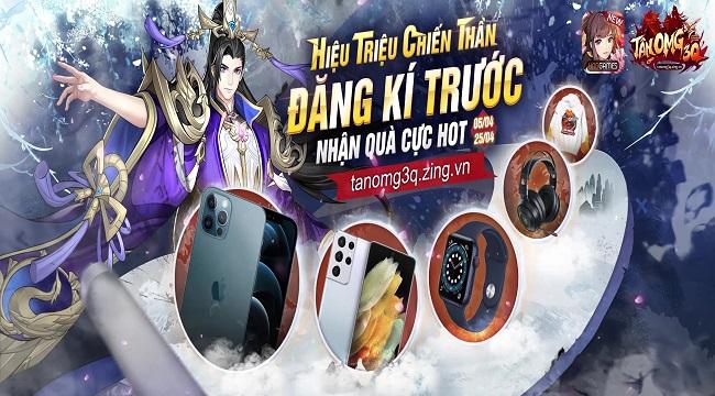 Tân OMG3Q VNG - Game Tam Quốc thế hệ mới được mong chờ nhất 1