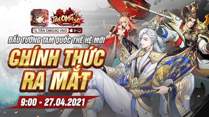 Game đấu tướng thế hệ mới Tân OMG3Q VNG chính thức ra mắt hôm nay 0