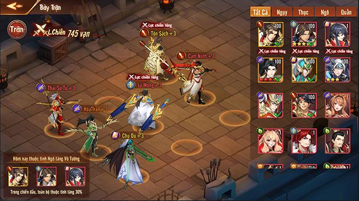Game đấu tướng thế hệ mới Tân OMG3Q VNG chính thức ra mắt hôm nay 1