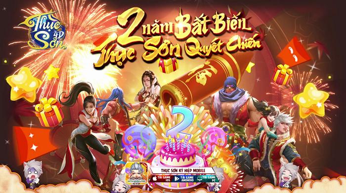 Tặng 500 giftcode Thục Sơn 4D mừng sinh nhật 2 tuổi 5