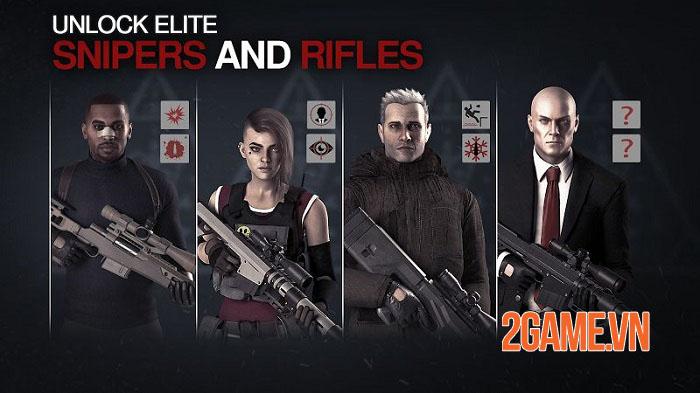 Khám phá tất tần tật mọi thứ về game bắn súng Hitman Sniper Assassins 2