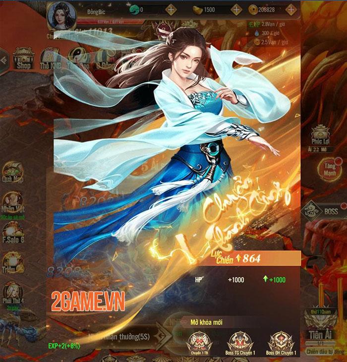 Phàm Nhân Mobile: Tu Tiên Lộ  - Game cày chay lên VIP sẽ ra mắt vào tháng 5 1