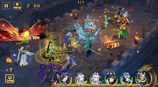 Game đấu tướng thế hệ mới Tân OMG3Q VNG chính thức ra mắt hôm nay