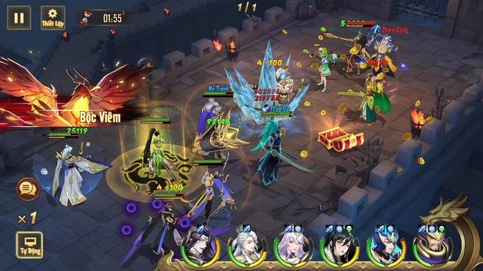 Game đấu tướng thế hệ mới Tân OMG3Q VNG chính thức ra mắt hôm nay 2