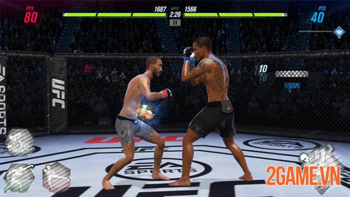UFC Mobile 2 - Trải nghiệm môn thể thao đối kháng thực tế tàn bạo nhất 0