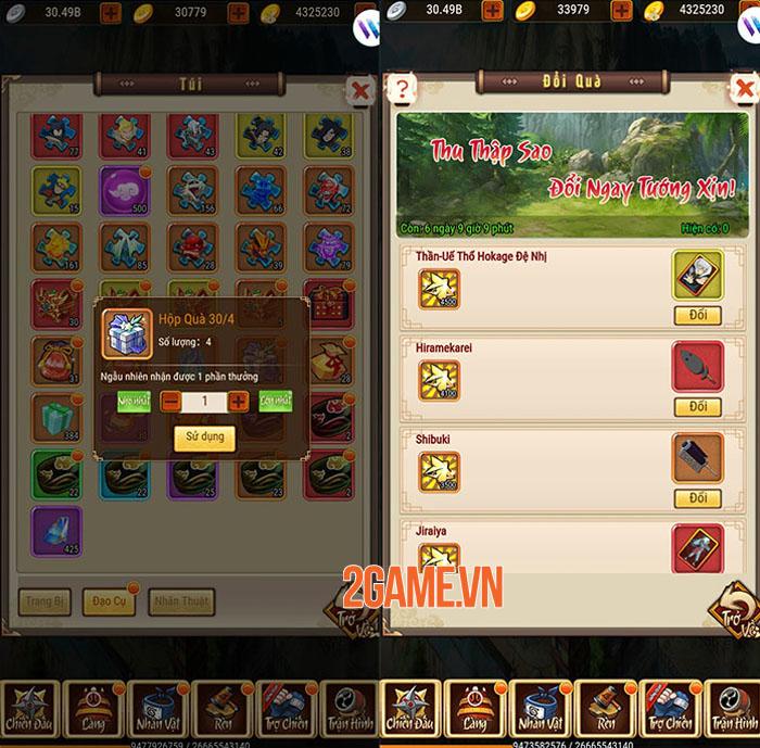Game Ninja Làng Lá Mobile tung chuỗi sự kiện mừng lễ 1