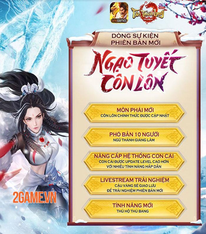 Tân Thiên Long Mobile mở loạt sự kiện HOT chào mừng Côn Lôn xuất thế 0