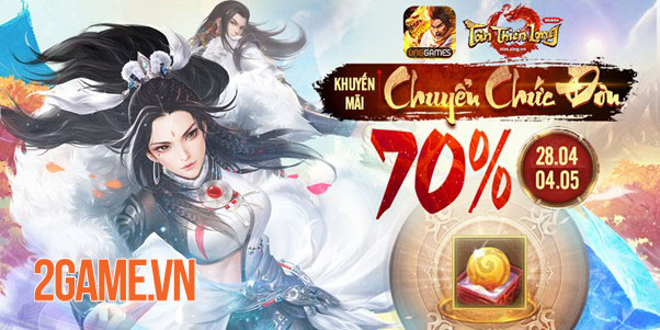 Tân Thiên Long Mobile mở loạt sự kiện HOT chào mừng Côn Lôn xuất thế 4