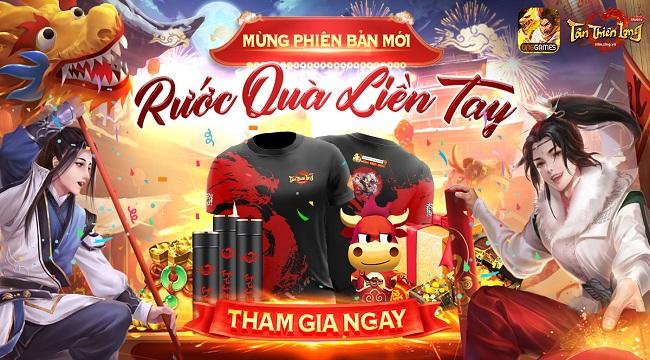 Tân Thiên Long Mobile mở loạt sự kiện HOT chào mừng Côn Lôn xuất thế