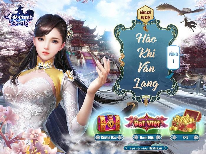 Thiên Ngoại Giang Hồ gây choáng toàn tập với sự kiện Hào Khí Văn Lang 3