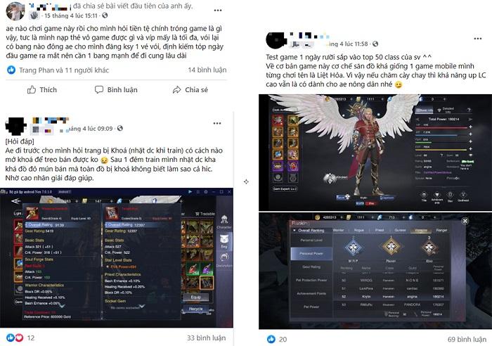 Game thủ Việt hướng dẫn nhau cách chơi Forsaken World: Thần Ma Đại Lục 3