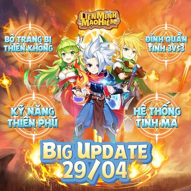 Liên Minh Mạo Hiểm chính thức ra mắt phiên bản Big Update ngay hôm nay 0