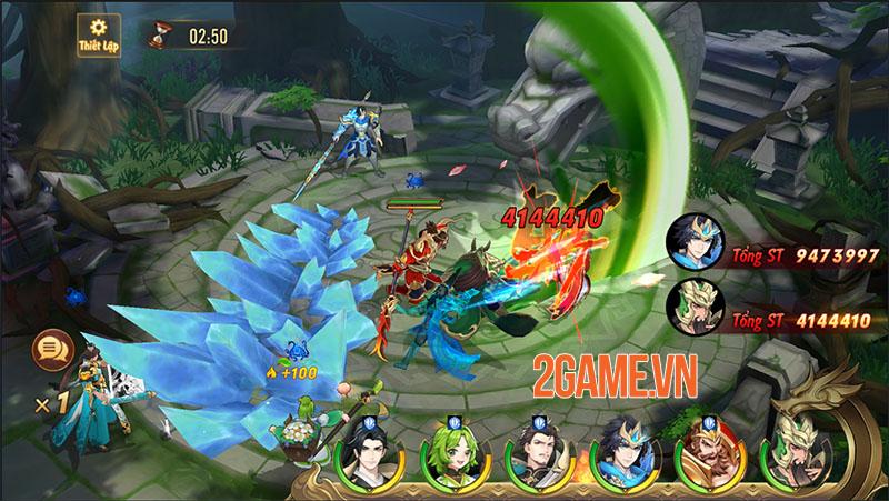 Quá trời hoạt động để người chơi tham gia trong Tân OMG3Q VNG 1